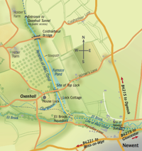 Map of Oxenhall